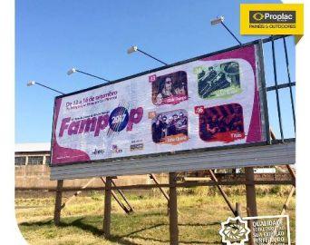 Fampop 2017 obteve R$ 80 mil de apoio cultural