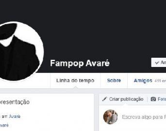 Página da Fampop Avaré no Face é invadida por hackers