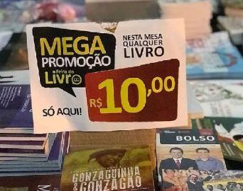 Com títulos a partir de R$ 10, Feira Popular do Livro começa hoje