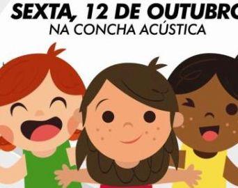 Festa das Crianças acontece amanhã na Concha Acústica