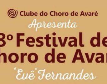 Começa hoje o 8º Festival de Choro de Avaré