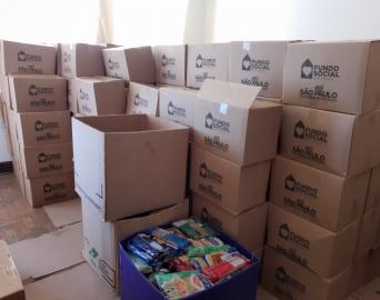 Avaré recebe cestas básicas e cobertores do Fundo Social de São Paulo