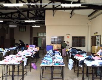 Projeto de doação de roupas do Fundo Social beneficia 530 famílias