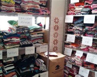Fundo de Solidariedade recebe doação de roupas e brinquedos
