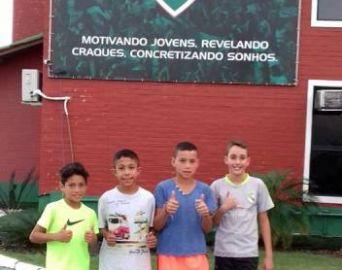 Garotos de Taquarituba são avaliados no Fluminense do Rio