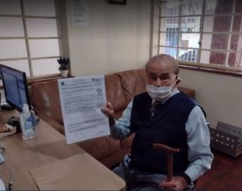 Aos 102 anos, Genez Parize renova sua CHN em Avaré