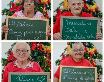 Assistidos do Asilo RAFA pedem presentes de Natal