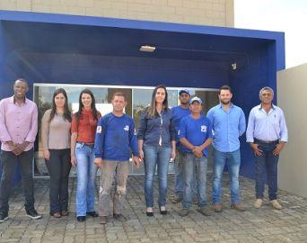 Usina de concreto inicia atividades em área concedida pelo município