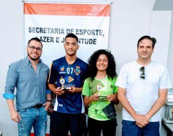 Secretaria de Esportes premia atletas destaques de 2019