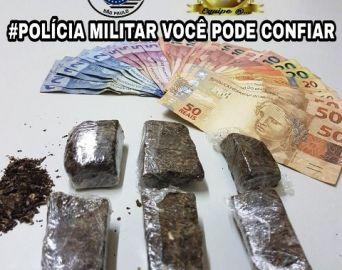 Traficante é preso em batida policial no Bonsucesso