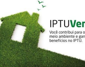 IPTU Verde garante desconto de até 15% a imóveis sustentáveis