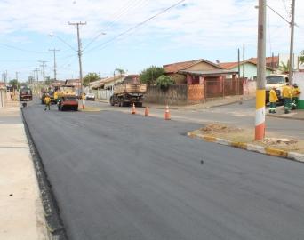 Prefeitura conclui recapeamento da Avenida João Victor De Maria