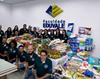 Faculdade Eduvale fará doação ao Asilo Rafa