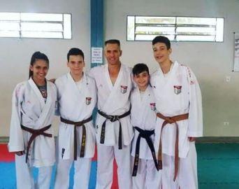 Caratecas de Avaré e Arandu marcaram presença no Campeonato Brasileiro