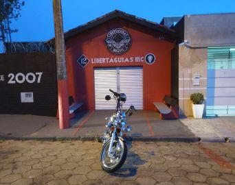 Libertatáguias Moto Clube vai comemorar 13 anos de existência