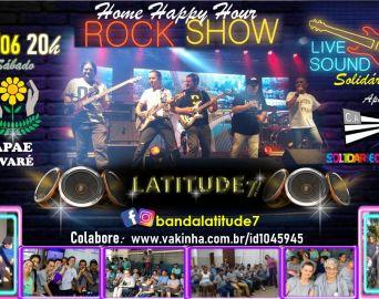 Banda avareense Latitude 7 fará live neste sábado em prol da APAE