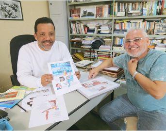 Cartunista e biógrafo de Djanira lançam a história em quadrinhos da pintora
