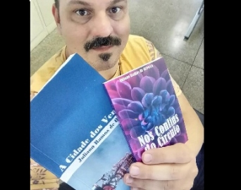 """Avareense lança os livros """"A Cidade dos Ventos"""" e """"Nos Confins do Círculo"""""""