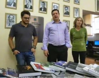 Vereador consegue 240 obras literárias para Avaré