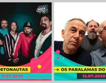 Rock Rio Pardo 2020 anuncia Detonautas e Paralamas