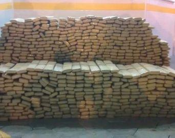 Polícia Rodoviária apreende quase 800 tabletes de maconha