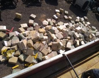 Polícia prende caminhoneiro com quase 5 toneladas de maconha
