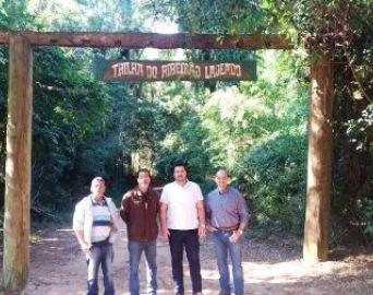 Deputado estadual visita o Horto de Avaré