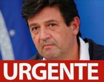 Mandetta é demitido do Ministério da Saúde por Bolsonaro