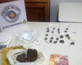 Polícia Militar prende traficantes que venderiam maconha na Feira da Lua