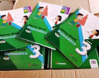 Educação adquire material para alunos dos 4º e 5º anos