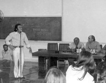 Criador da Turma da Mônica, Mauricio de Souza já palestrou em Avaré