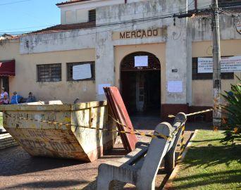 Mercado Municipal será fechado esta semana devido às obras de reforma