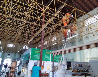 Prefeitura diz que adequação vai trazer característica original do Mercado Municipal