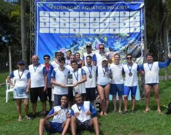 Nadadores de Avaré são vice-campeõs nas Maratonas Aquáticas
