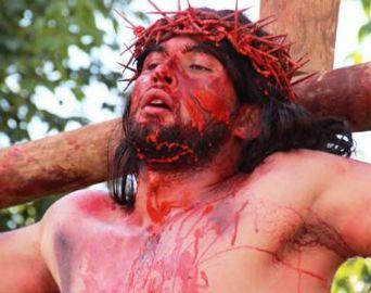 Paixão de Cristo atraiu moradores em Cerqueira César