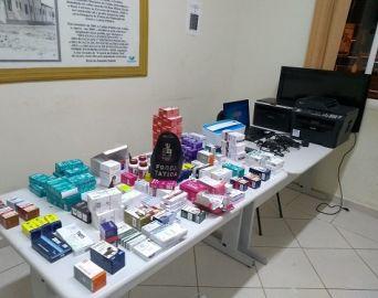 Força Tática apreende aparelhos eletrônicos e medicamentos veterinários furtados em Avaré
