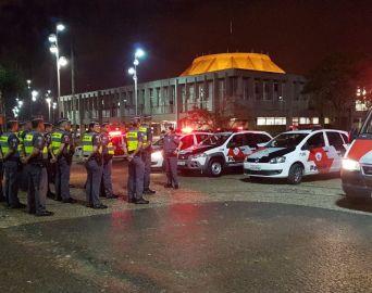Mais de 18 mil policiais militares participam da Operação Tiradentes