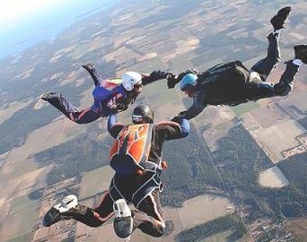 Avaré recebe evento de paraquedismo nos dias 16 e 17