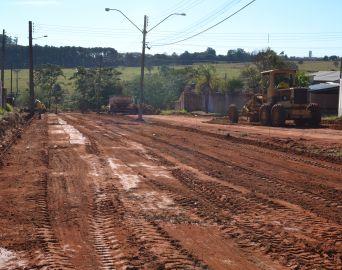Pavimentação vai ampliar acesso a ruas que cortam o Paraíso