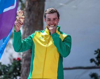 Pirajuense Pepê Gonçalves é ouro nos Jogos Pan-Americanos de Lima