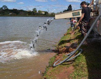 Pescaria no lago do Brabância acontece neste final de semana