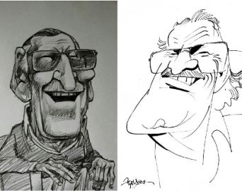 Artistas homenageiam Stan Lee com caricaturas