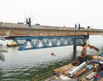CCR SPVias finaliza conservação especial na Ponte Carvalho Pinto