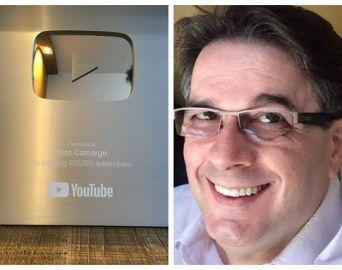 Professor avareense conquista prêmio do Youtube