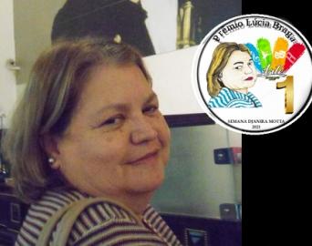 Atividade escolar homenageia arte-educadora Lúcia Helena Braga Cunha