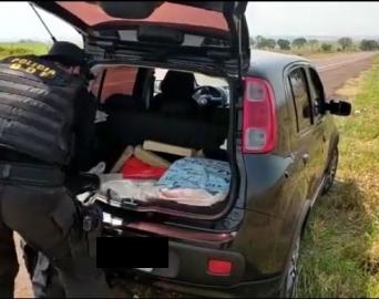 Casal de Avaré é preso com mais de 60 quilos de maconha no Mato Grosso