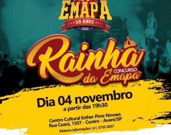 Rainha da Emapa será escolhida no domingo