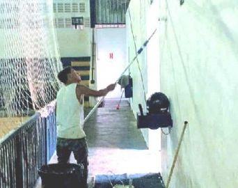 Secretaria dá início à revitalização do Ginásio Tico do Manolo