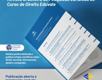 Curso de Direito da Eduvale cria revista que compila pesquisas jurídicas