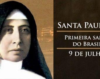 Festa de Santa Paulina acontece de 4 a 9 de julho